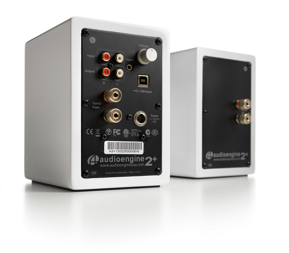 New and Improved Including Internal 24-bit USB DAC.  All-in-one Hi-Fi Speakers for Your Computer.