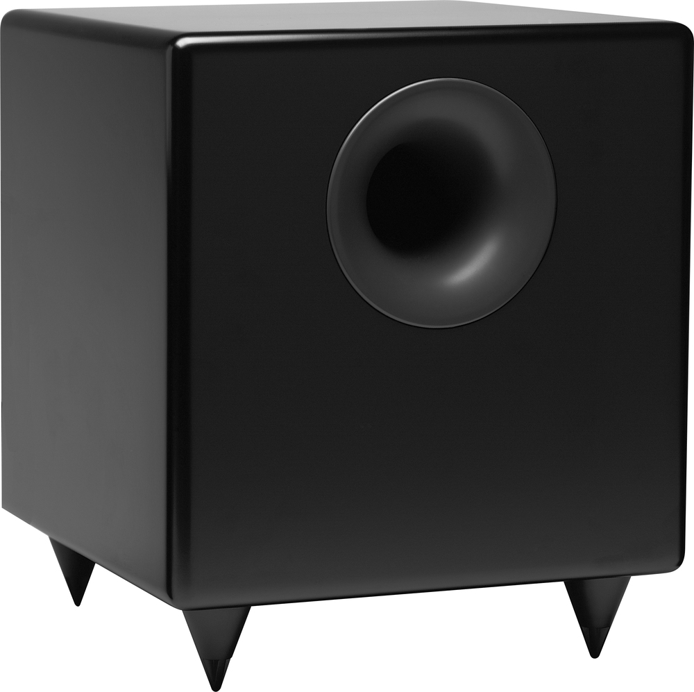 Audioengine S8 Powered Subwoofer also available in White.