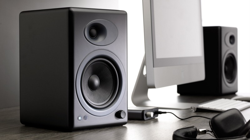 Audioengine A5+ Powered Speakers have plenty enough power to drive even a larger room. From $399 on iHi-Fi.com.