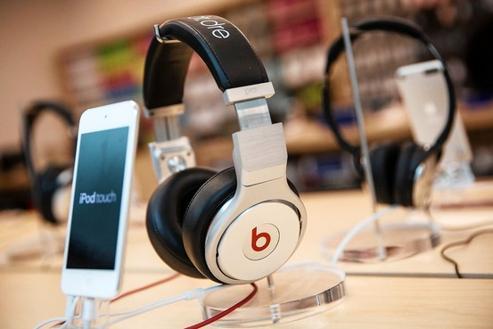 "Calling Beats headphones ""high end"" is proof many press statements exist in the realm of echo-box information. How is Apple going to resolve 24 bit resolution with Beats low-fi image? Getty Images."