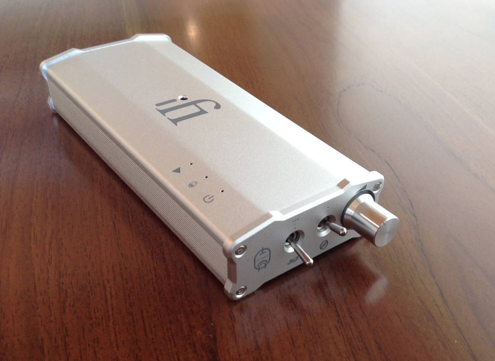 The Micro itube buffer / preamp from ifi Audio is highly recommended. photo by ihi-fi.
