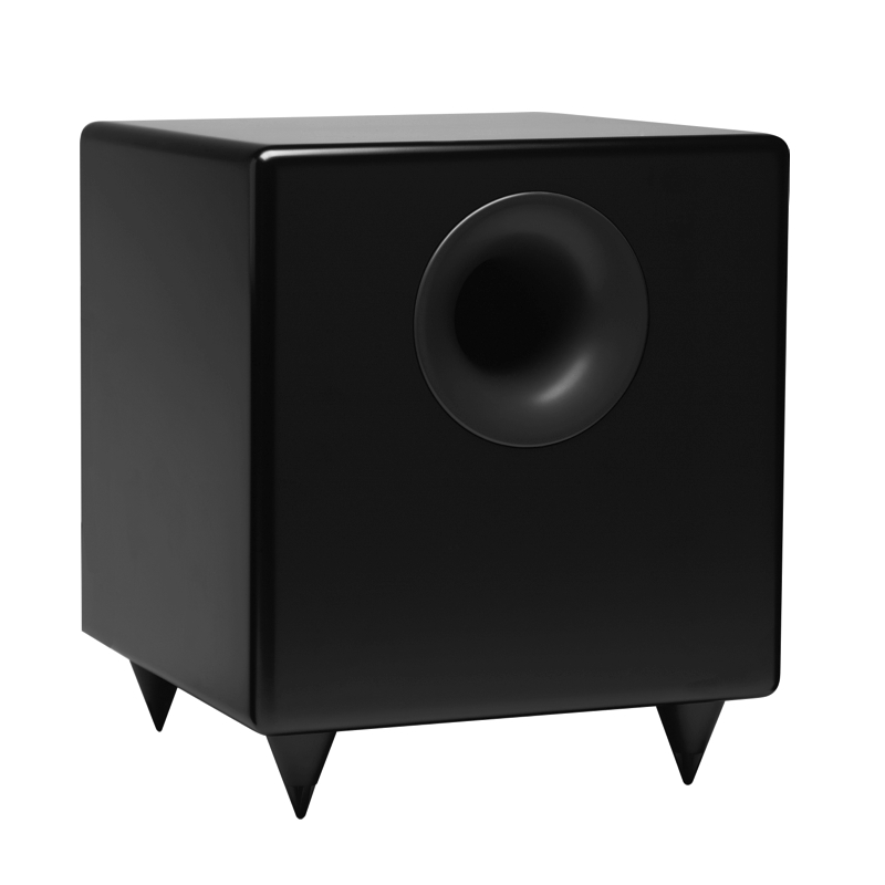 Audioengine S8 Powered Subwoofer fills in the lower bass beautifully and is another great speaker value for building a complete computer audio hi-fi setup.