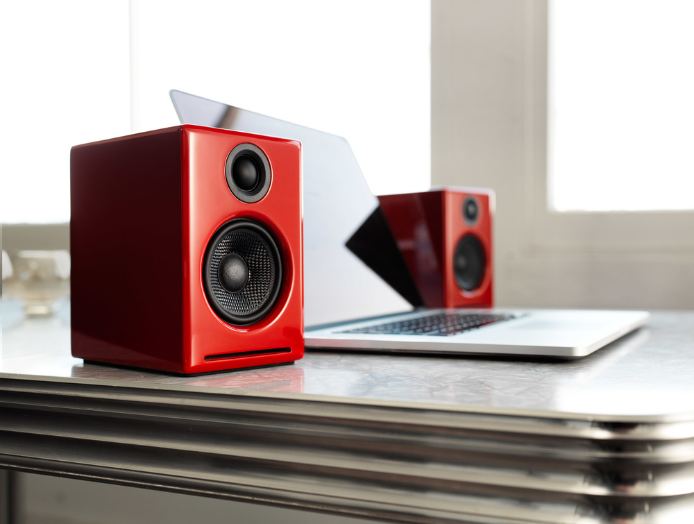 A2+ Powered speakers w/ DAC