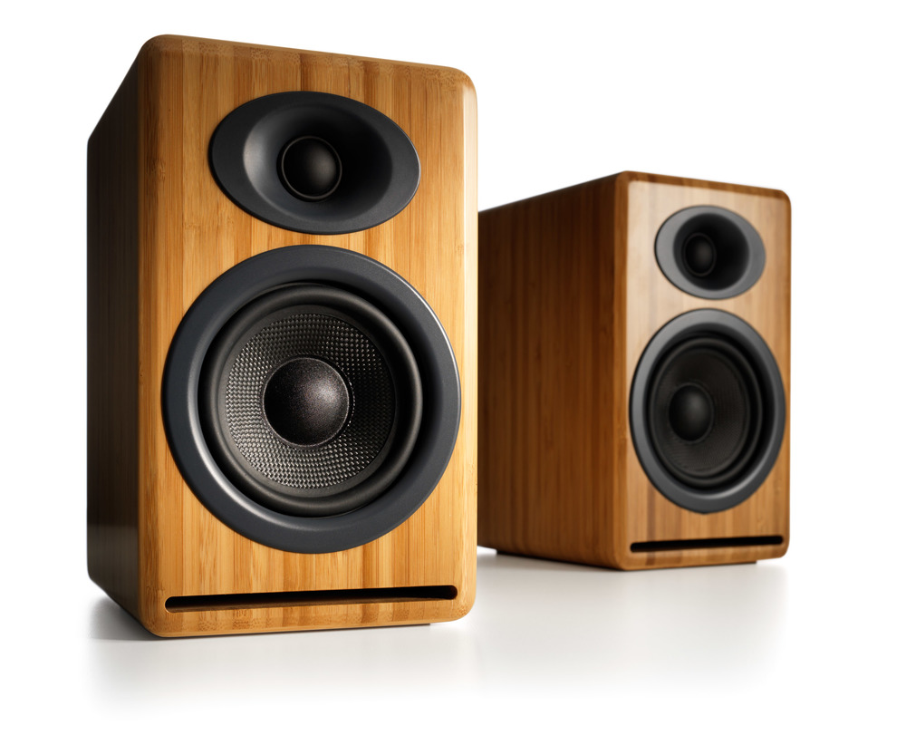 P4 Passive Speakers - Bamboo