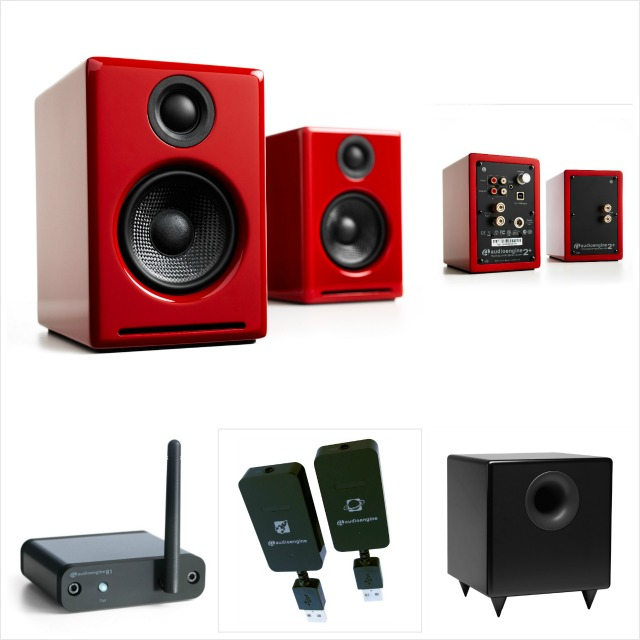 high-value core system with A2+ speakers, S8 sub, Bi Bluetooth receiver, and W3 Universal audio adapter.  connect any source. go direct to usb or go wireless with either bluetooth for convenience or wi-fi for best sound.