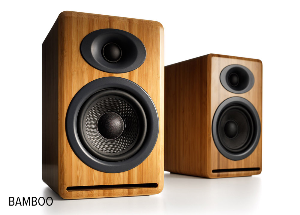 Audioengine P4N Passive Speakers -- big sound from a small but handsome package.