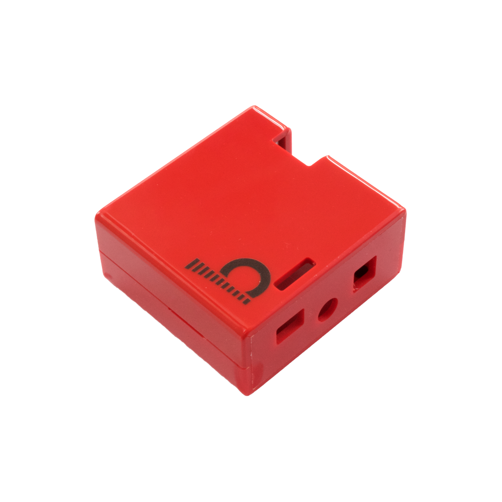 Cases in red or black make a Player device of your DAC and Amp Board stack.