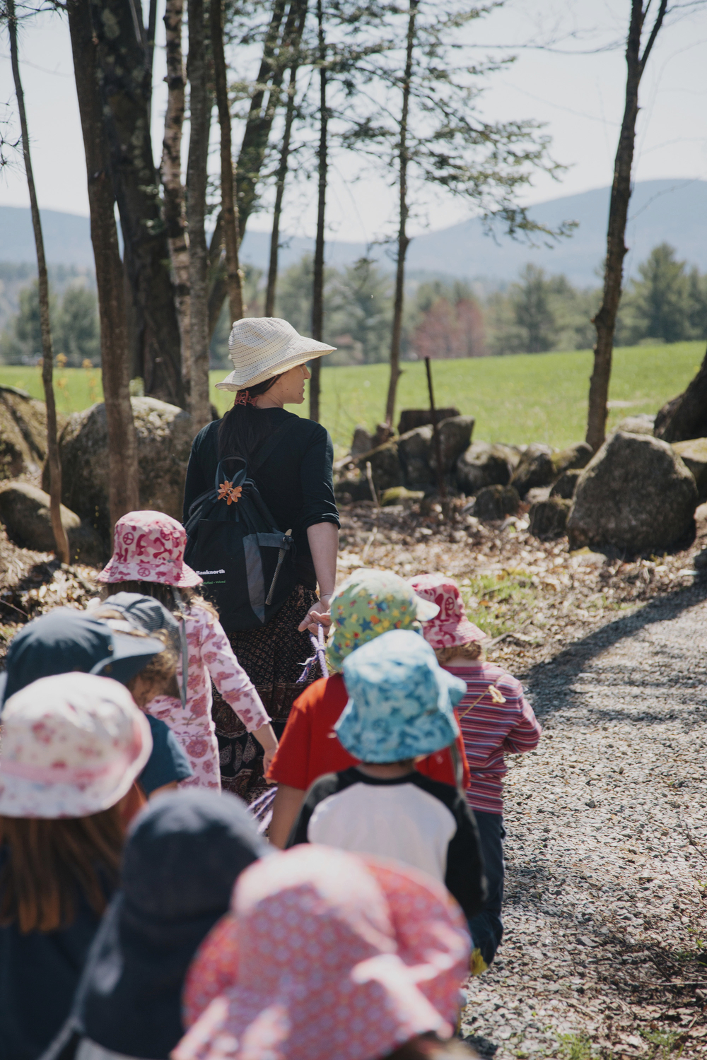 Preschool outdoor adventures
