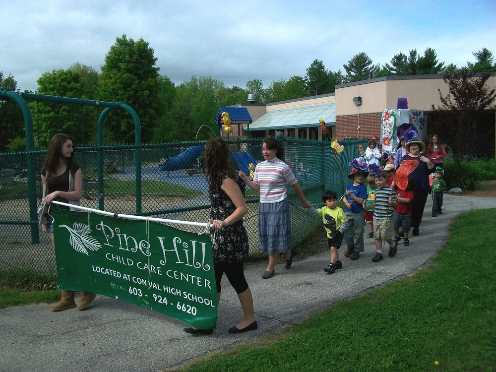 2012 Parade practice at ConVal