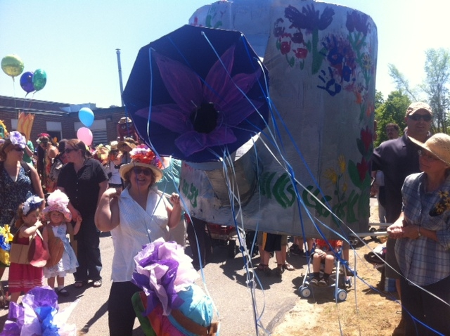 2012  Flower Power giant watering can