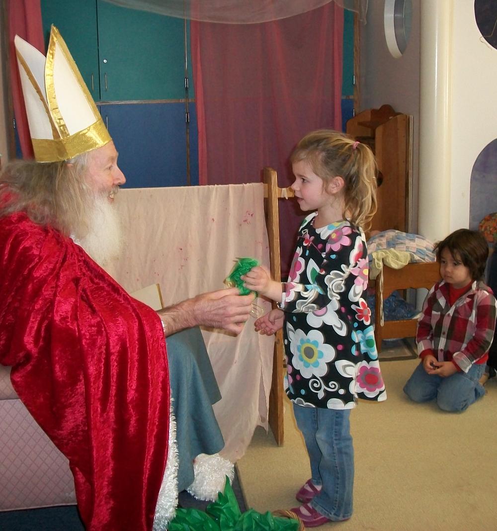 A Gift from Saint Nicholas