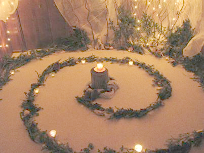 Advent / Winter Solstice Spiral