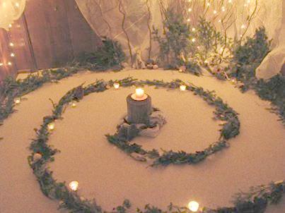 Advent / Winter Solstice Spiral