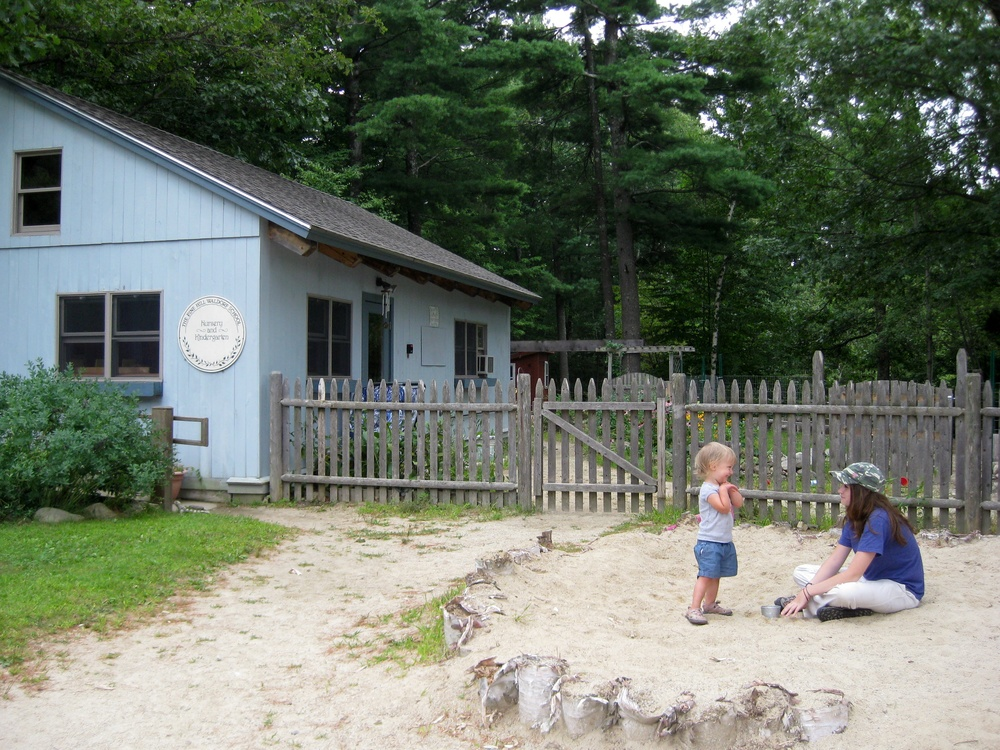 Bluebell Cottage at Pine Hill Waldorf School A Child's Nature Infant / Toddler classroom