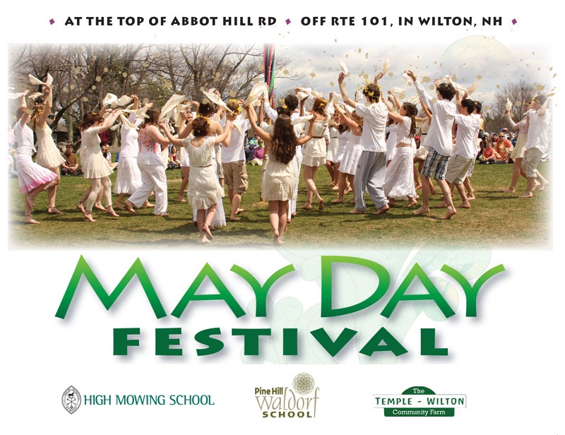 2015 Poster for the May Festival at High Mowing School