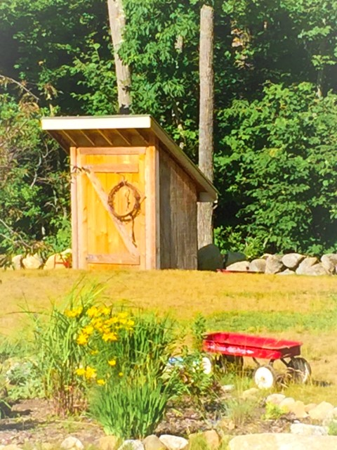 Buttercup Pre-Kindergarten play yard and shed.