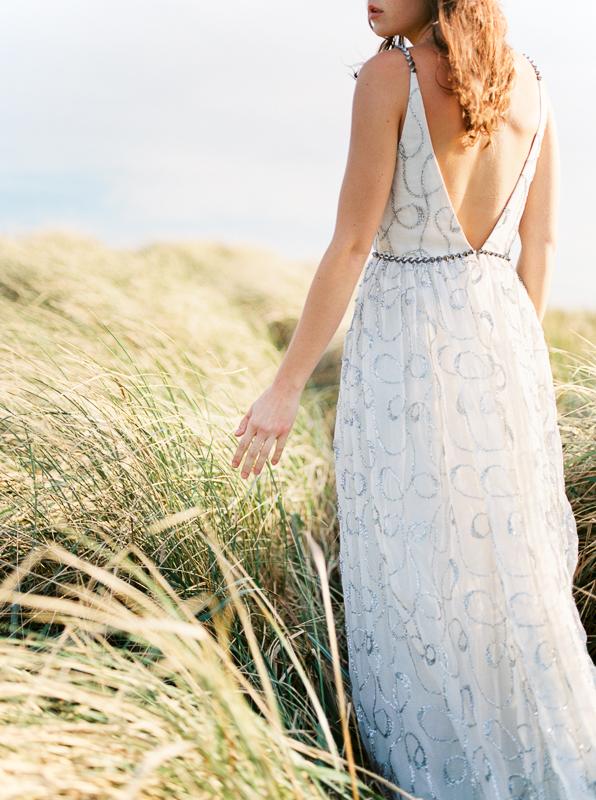 Elizabeth Dye Gown at the Oregon Coast