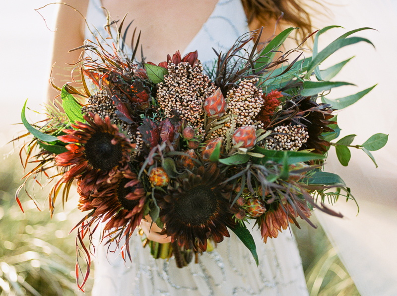 Ponderosa and Thyme Wedding Bouquet