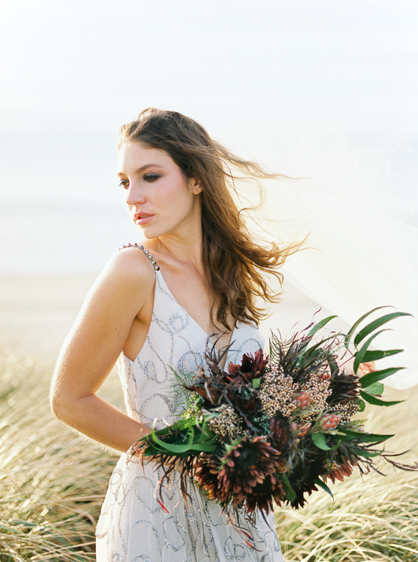 Oregon Wedding with Bouquet