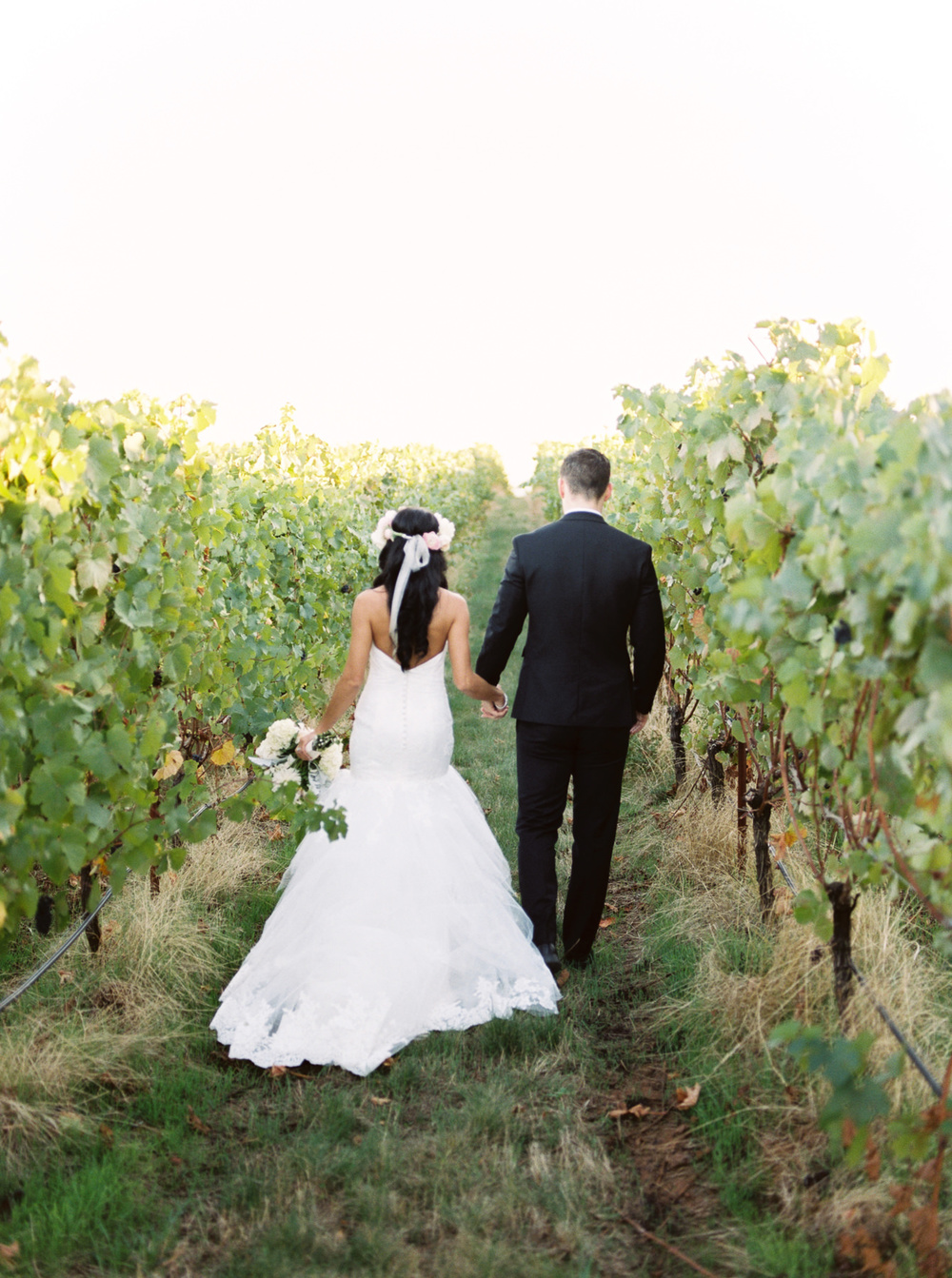 Winery Oregon Wedding