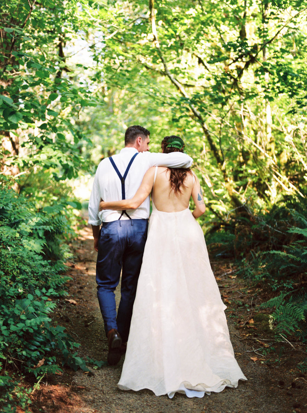 Tillamook Forest Wedding