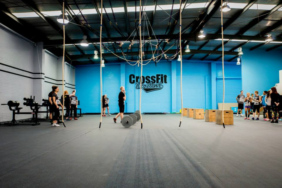 Above: A pic from the new box - we are now one of the biggest CrossFit boxes in Australia!