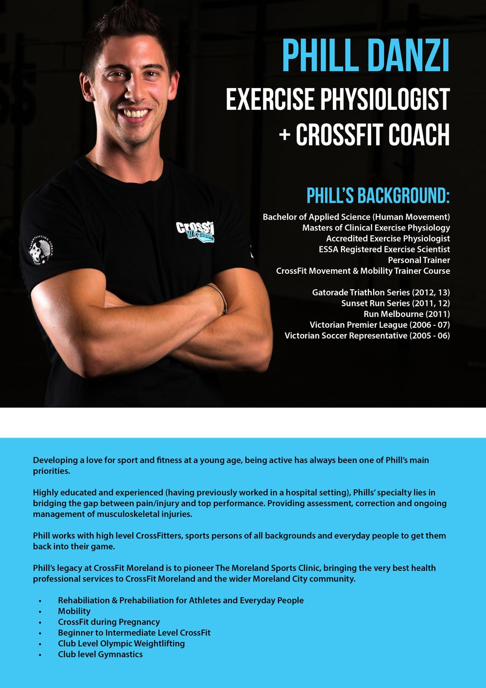 CrossFit Moreland - Phill Danzi