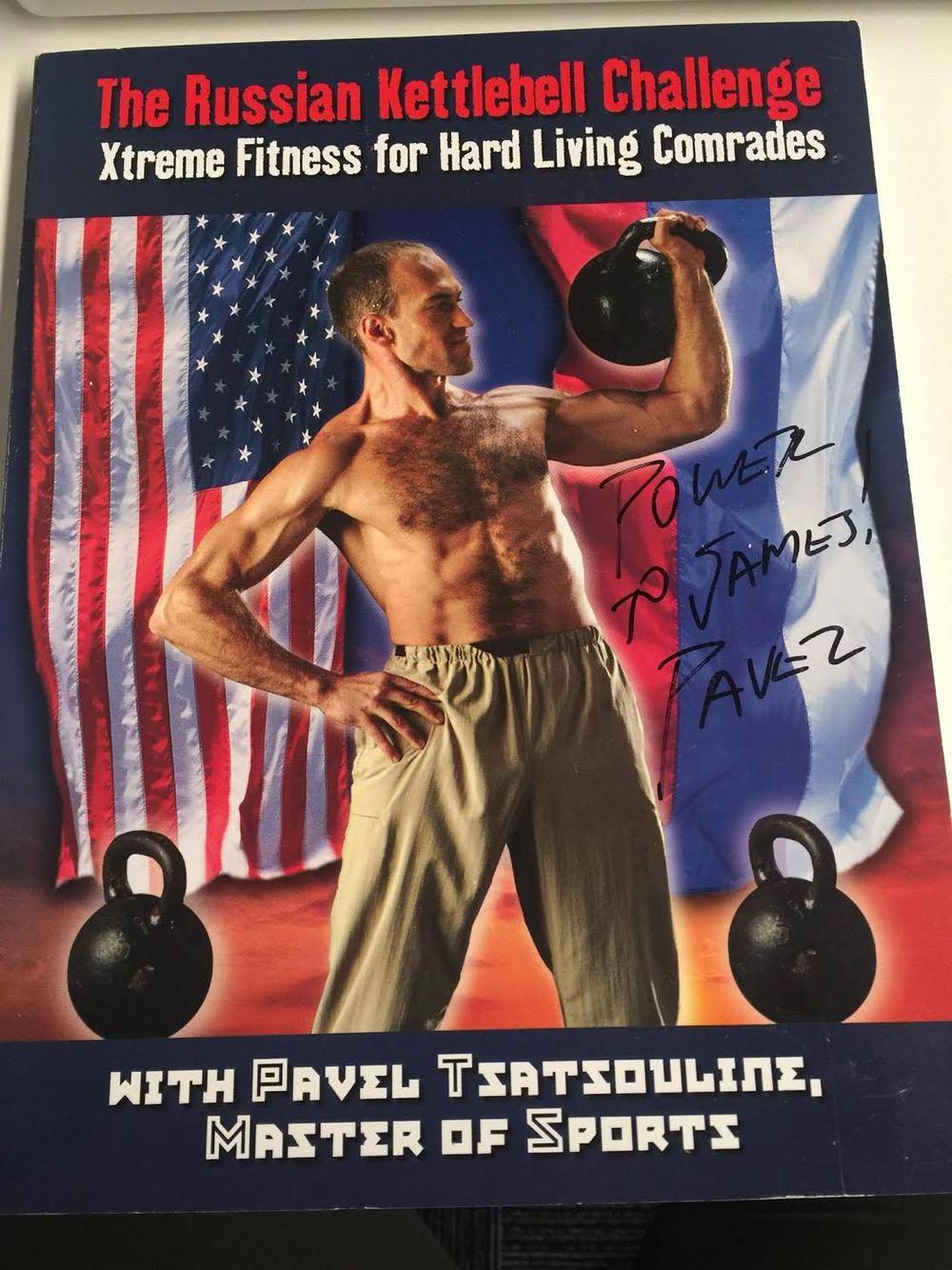 Kettlebell Challenge - Pavel