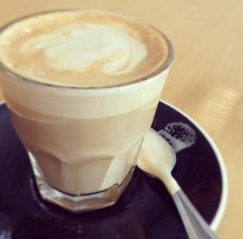 Cortado at Constellation Coffee.