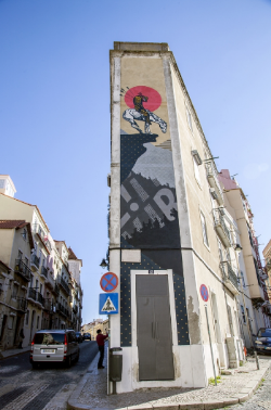 Public art by CYRCLE, Lisbon