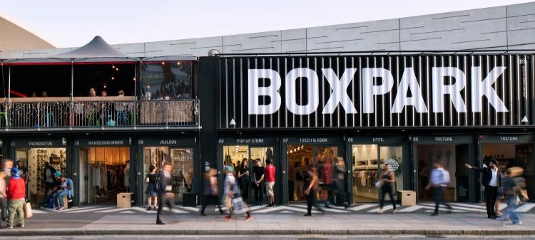BoxPark, Shoreditch, London