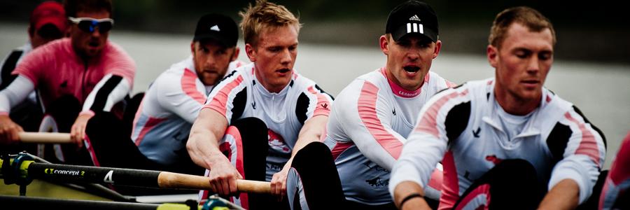 adidas rowing ambassaor's Alex Partridge & Pete Reed