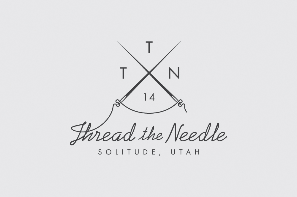 the gallery for gt needle and thread logo
