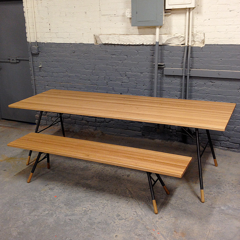 St. Claire Table and Bench