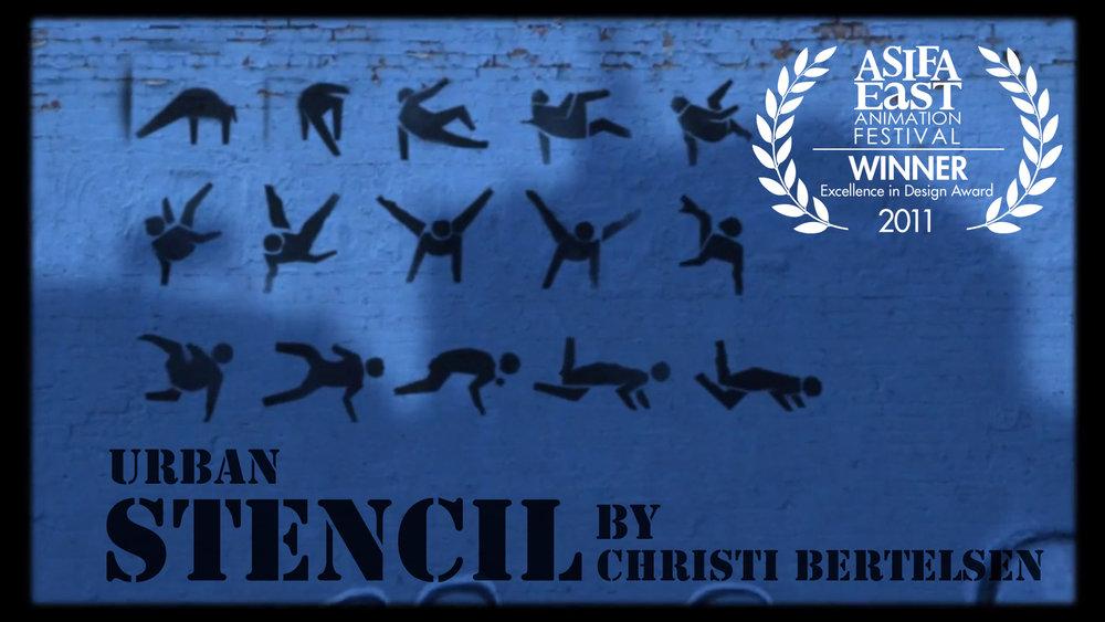 Urban Stencil. A short film inspired by graffiti.