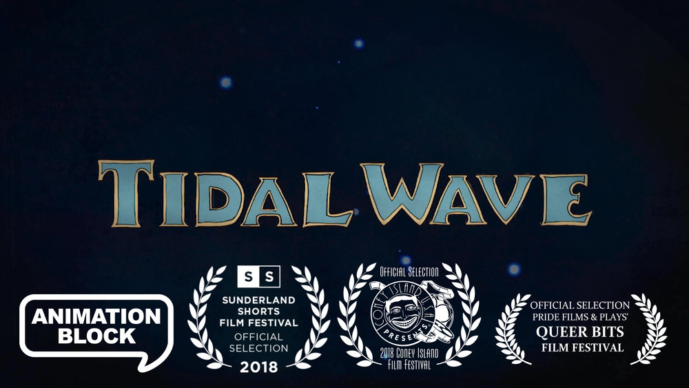 Tidal Wave (excerpt). A short animated film and personal memoir.