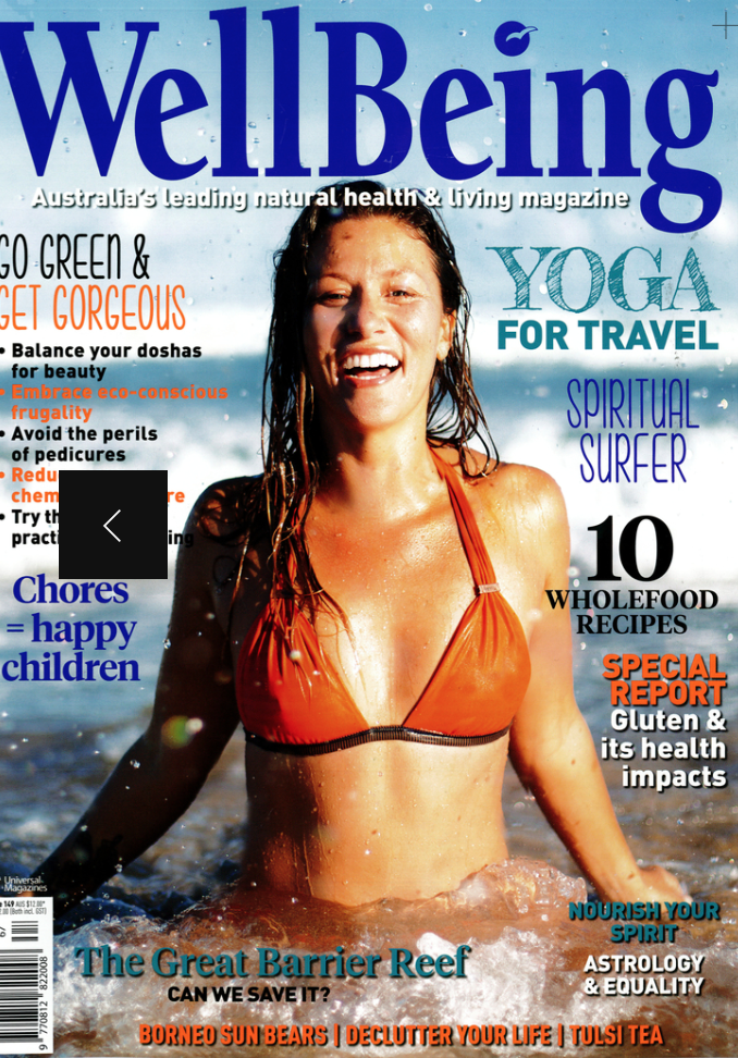 2014 Cover Wellbeing Magazine