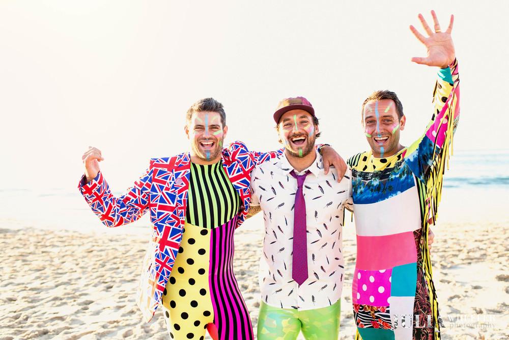 Love the colours boys!