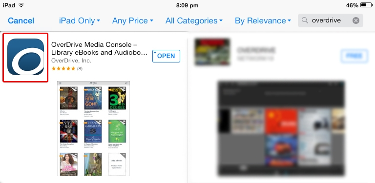 OverDrive App on the App Store