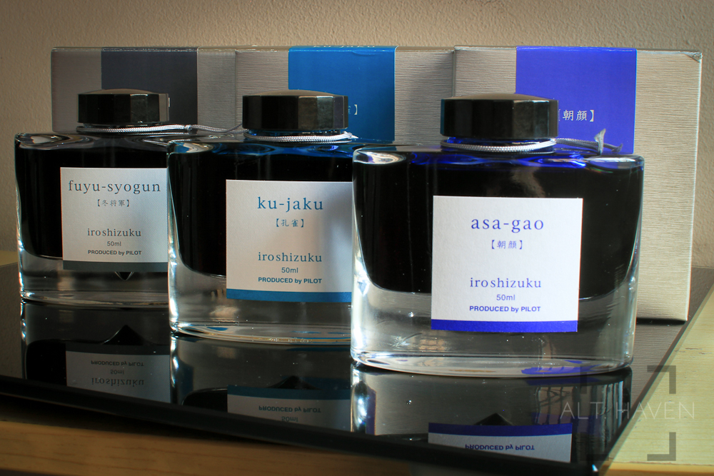 Pilot Iroshizuku Bottled Fountain Pen Inks.jpg