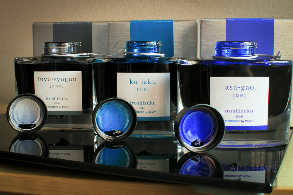 Pilot Iroshizuku Bottled Inks Colours.jpg