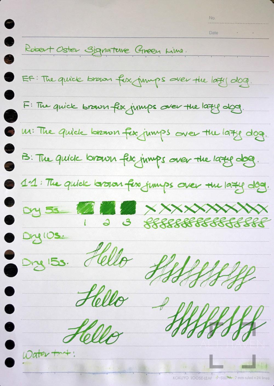 Robert Oster Siganture Green Lime 1.jpg