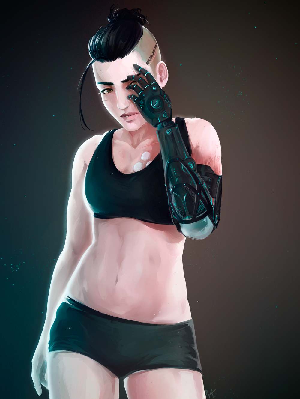 Sara Ryder - Prosthetic