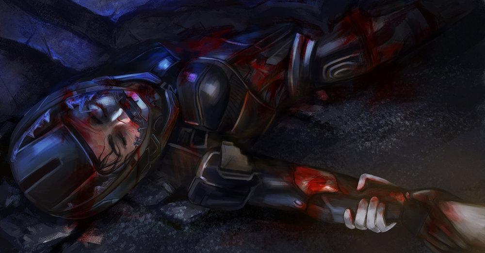 Sara Ryder - Death