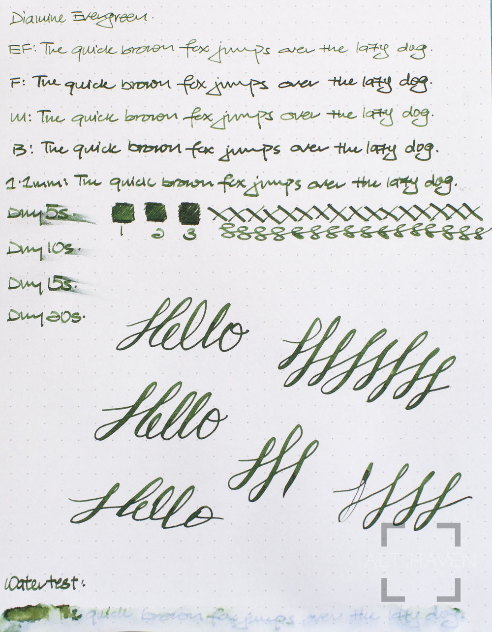 Diamine Evergreen.jpg