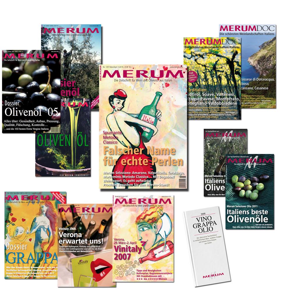 Die Printmedien von Merum