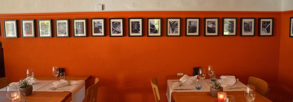 Bildergalerie im Restaurant Isebähnli in Trimbach.