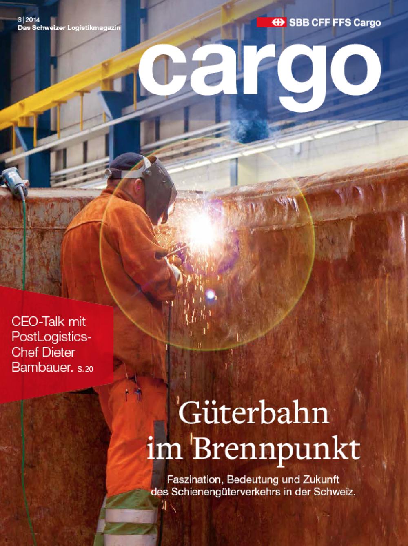 SBB Cargo Magazin 03/2014
