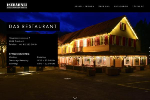 Restaurant Isebähnli