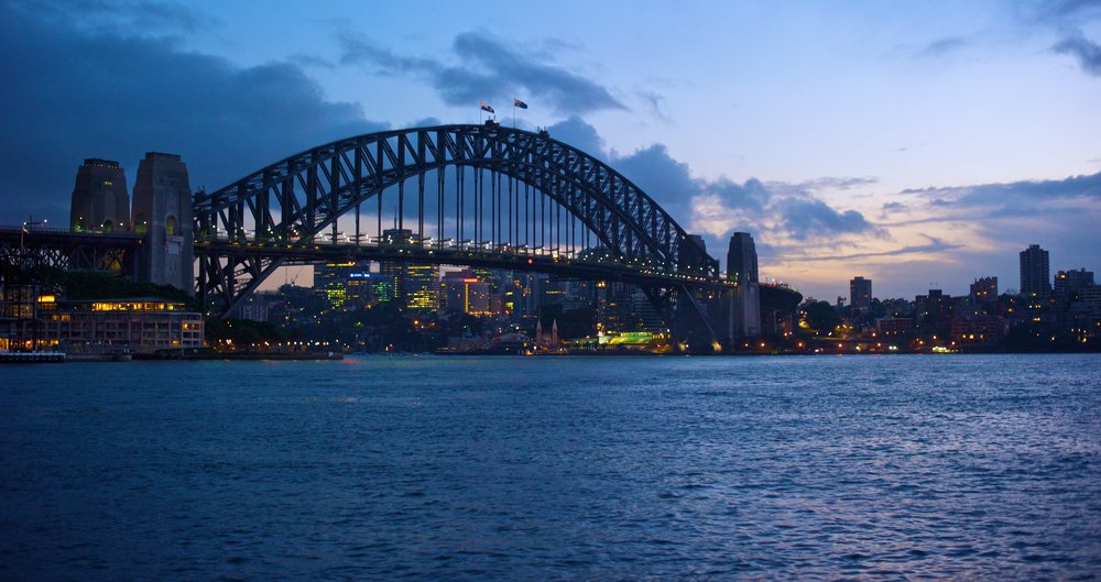 The Harbour Bridge at Sunrise